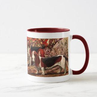 Vintage Beagles Ceramic Mug