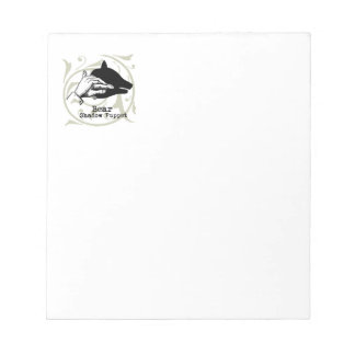 Vintage Bear Hand Puppet Shadow Games Notepad