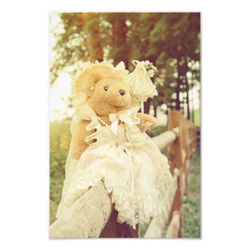 Vintage Bear Photo Print
