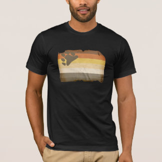 Vintage bear pride flag T-Shirt