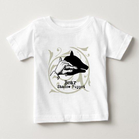 Vintage Bear Puppet Artwork Illustration Baby T-Shirt