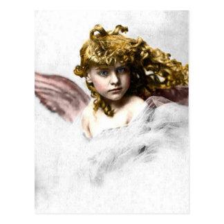 Vintage - Beautiful Angel Child Postcard