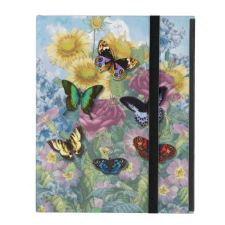 "Vintage ""Beautiful Butterflies"" iPad Powiscase iPad Cover"