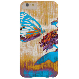 Vintage Beautiful Butterfly on flower Barely There iPhone 6 Plus Case
