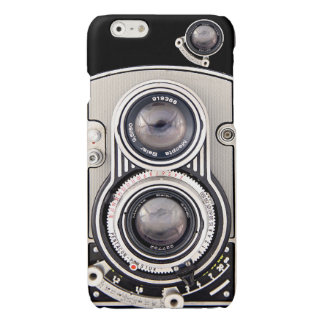 Vintage beautiful camera glossy iPhone 6 case