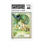 Vintage Beautiful Day Garden Stamp