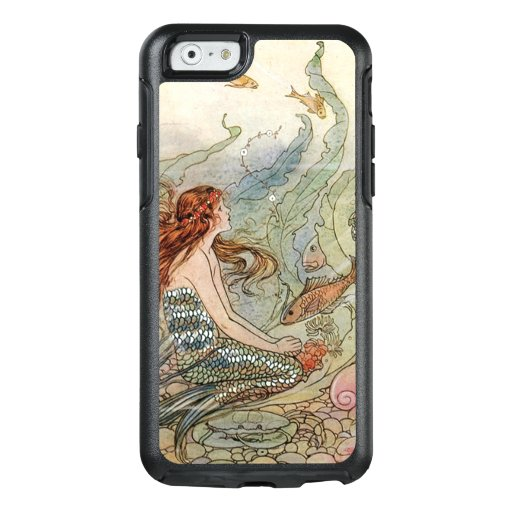 Vintage Beautiful Girly Mermaid Under The Sea OtterBox iPhone 6/6s Case