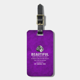 Vintage Beautiful Must Start Grunge Tags For Bags