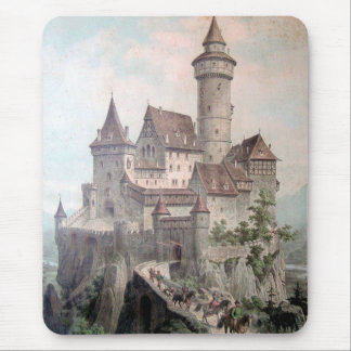 Vintage - Beautiful Old Castle Mouse Pad