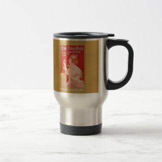 Vintage Beauty Advertisement Travel Mug