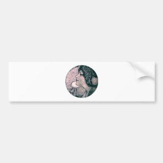 Vintage Beauty Bumper Sticker