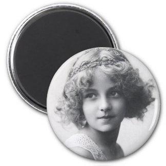 Vintage Beauty Fridge Magnet