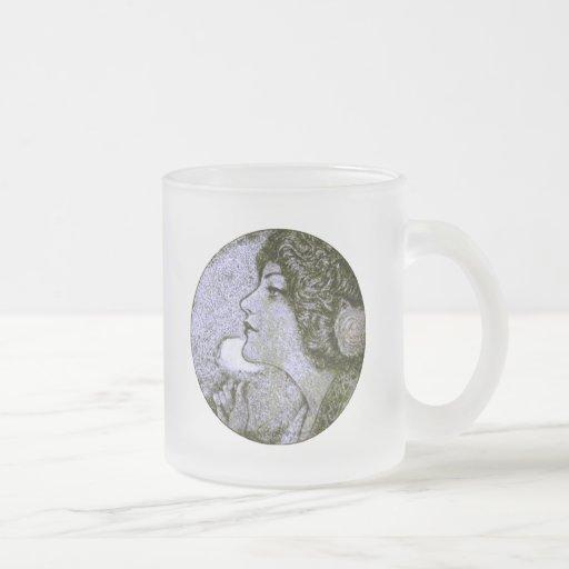 Vintage Beauty Mugs