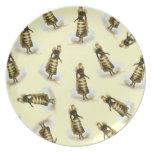 Vintage Bee Ladies Plates