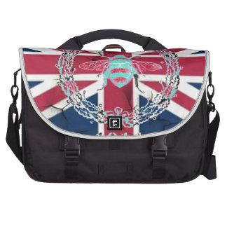 vintage bee london fashion union jack commuter bags