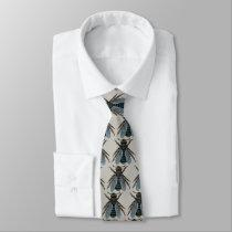 vintage bee tie