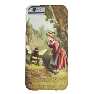 Vintage Bee Victorian Girl Honey Pot Forest Barely There iPhone 6 Case
