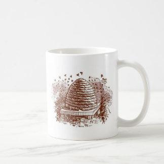 Vintage Beehive Beekeeping Coffee Mug