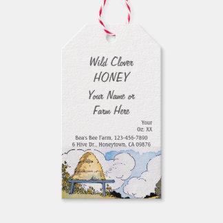 Vintage Beehive Custom Honey Canning Tag