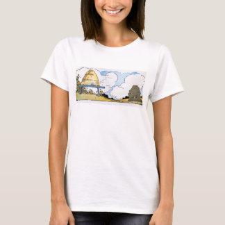 Vintage Beehive Landscape T-shirt