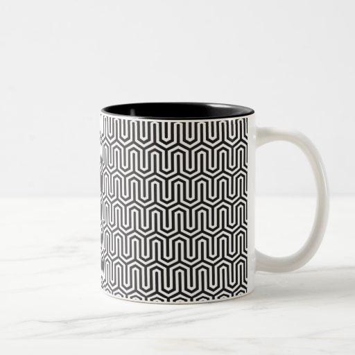 Vintage beehive mug