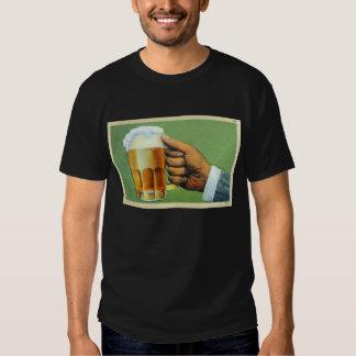 Vintage Beer Bier Frosty Mug Postcard Shirts