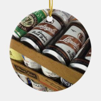 Vintage Beer Can Ornament