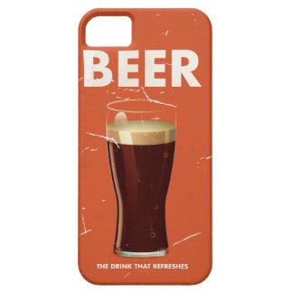 Vintage Beer Commercial poster. iPhone SE/5/5s Case