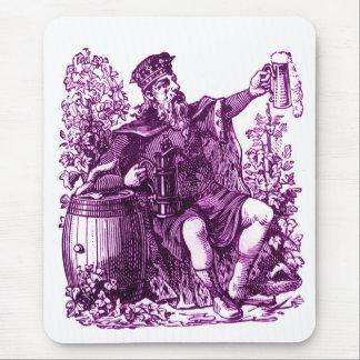 Vintage Beer German Beer Drinker Brewpub Guy Mouse Pad