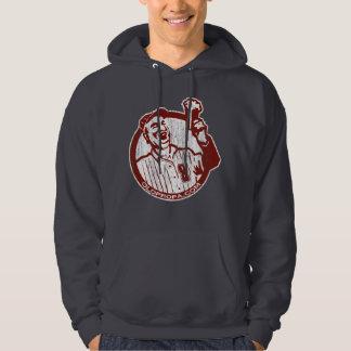 Vintage 'Beer guy' (for dark apparel) Hoody