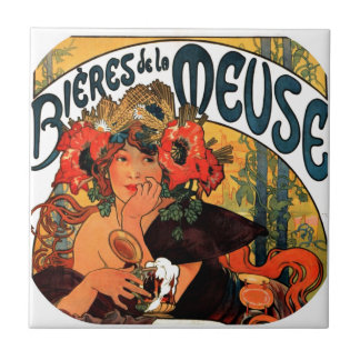 Vintage Beer Muse Tiles