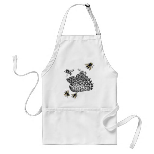 Vintage Bees Aprons