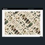 """Vintage Beetle Illustration Skin For Laptop<br><div class=""""desc"""">An illustration by Lorenz Oken of beetle varieties from 1843</div>"""