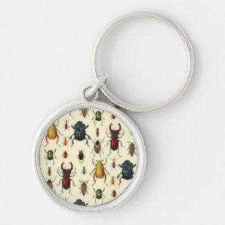 Vintage Beetles Keychain
