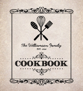 cookbook gifts on zazzle
