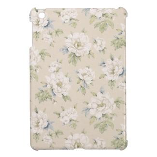 Vintage beige floral design