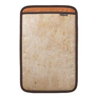 Vintage Beige Grunge Design MacBook Air Sleeve