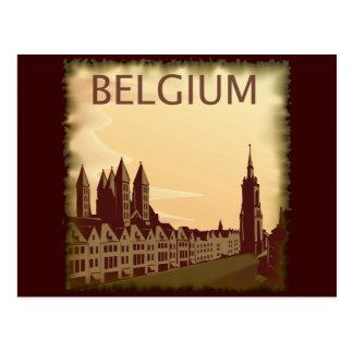 Vintage Bélgica Tarjetas Postales