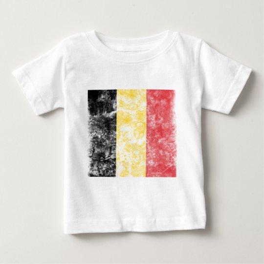 Vintage Belgium Flag Baby T-Shirt