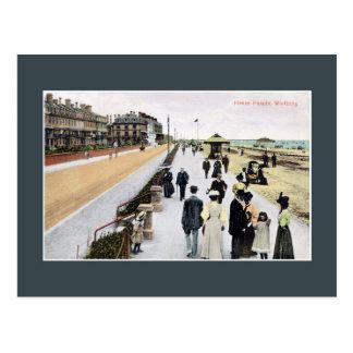 Vintage belle epoque Heene Parade Worthing Postcard