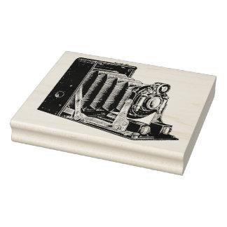 Vintage Bellows Camera Rubber Art Stamp