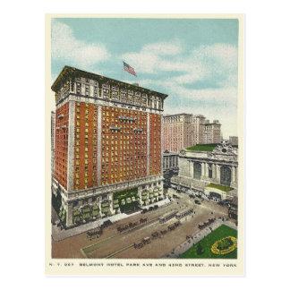 Vintage Belmont Hotel New York City, New York Postcard