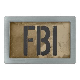 Vintage belt buckle for men | FBI customizable