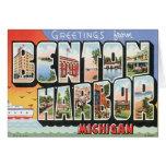 Vintage Benton Harbor Michigan Cards