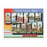 Vintage Benton Harbor Michigan Post Card