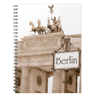 Vintage Berlin design Notebook