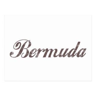 Vintage Bermuda Post Card