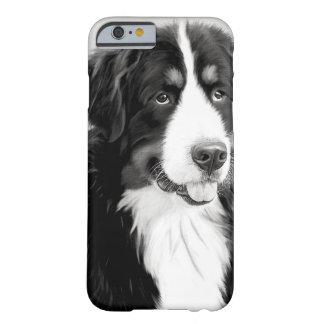 Vintage Bernese Mountain Dog iPhone Case