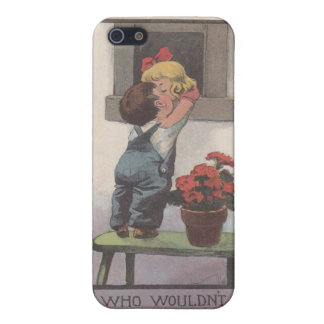 Vintage Bernhardt Wall Postcard iPhone 5 Case