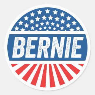 Vintage Bernie Classic Round Sticker